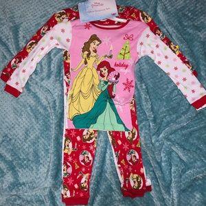 Christmas Princess Pajama Set